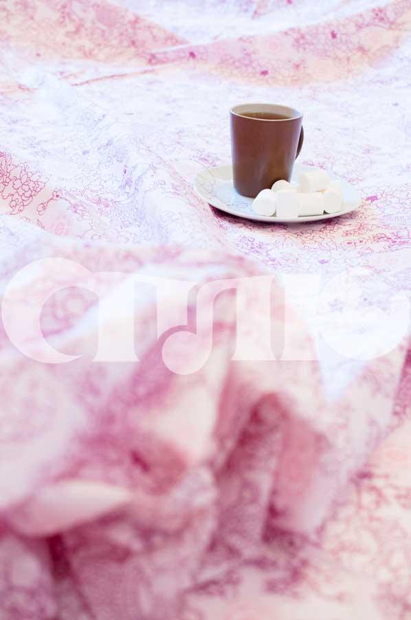 Купить Постельное белье с розовым узором Сплю изображение 3