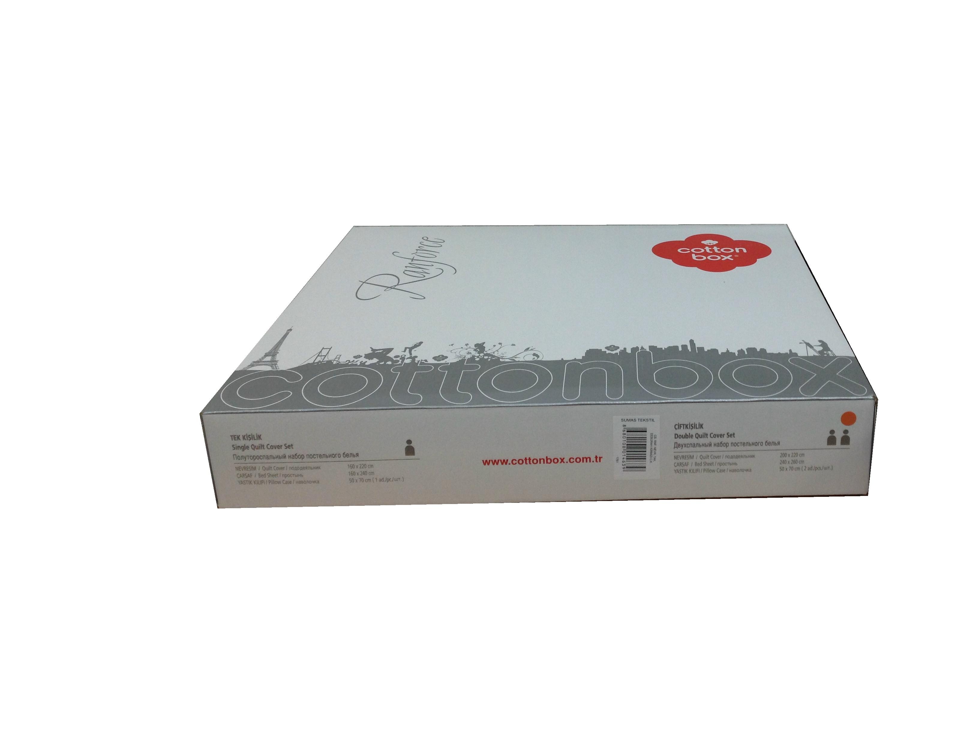 Купить DEBORAH BEJ Cotton Box постельное белье изображение 3
