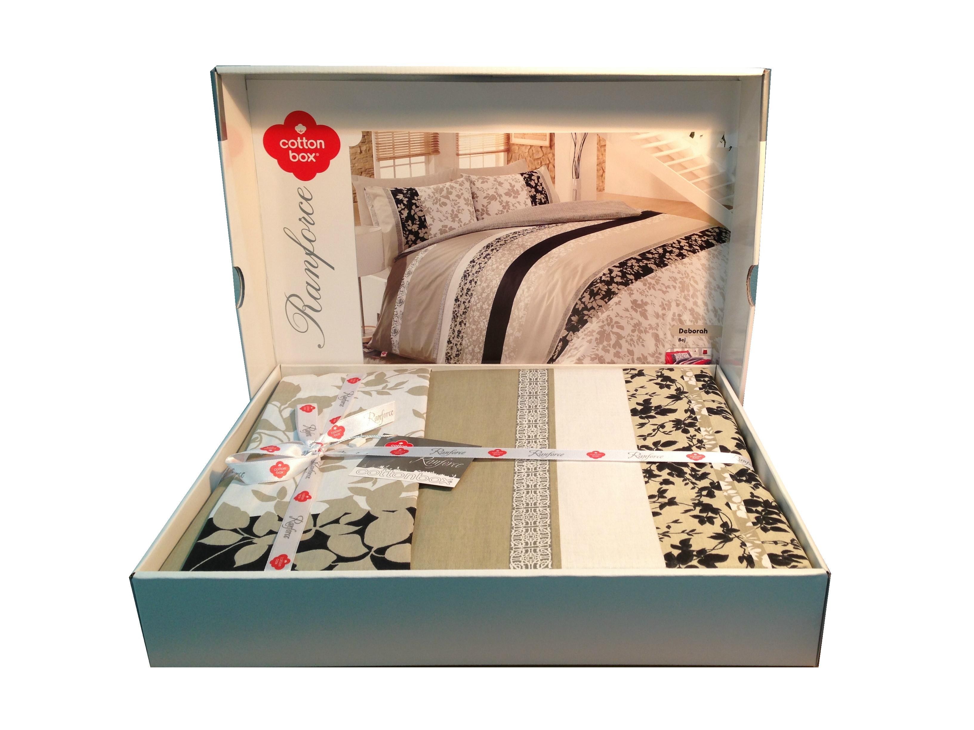 Купить DEBORAH BEJ Cotton Box постельное белье изображение 2