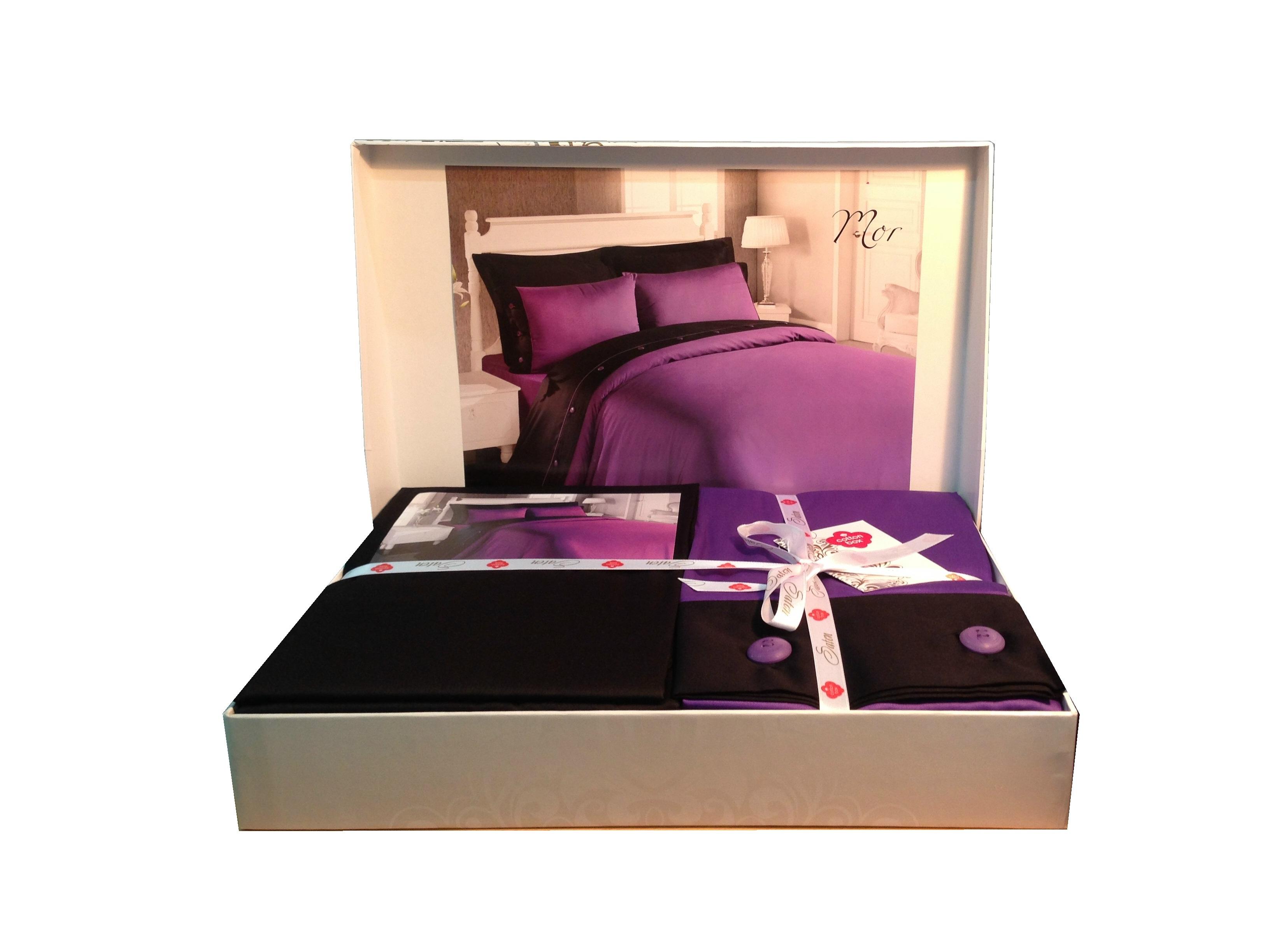 Упаковка постельного белья в подарок
