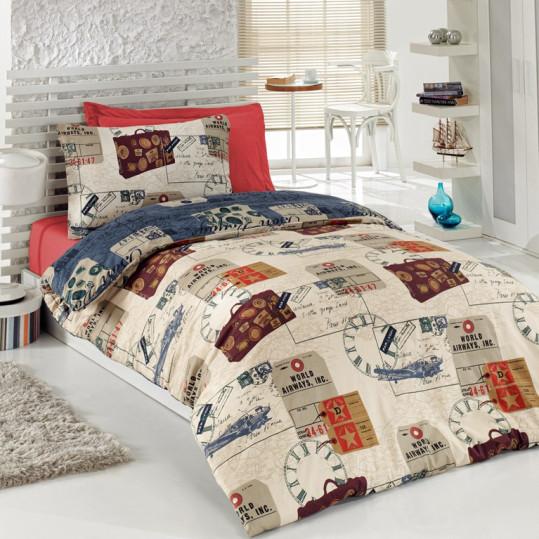 Купить TRAVEL Cotton Box подростковое постельное белье