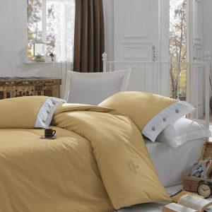 Купить KARAMEL Plain Cotton Box постельное белье