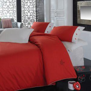 Купить KIRMIZI Plain Cotton Box постельное белье