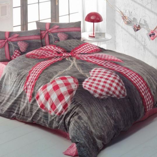 Купить LOVEBOX KIRMIZI 3D Cotton Box постельное белье