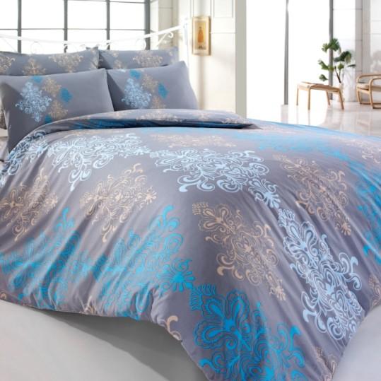 Купить Aura v2 Gri Majoli Bahar tekstil постельное белье