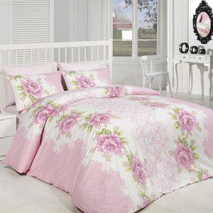Купить Melis v1 Pembe Majoli Bahar tekstil постельное белье