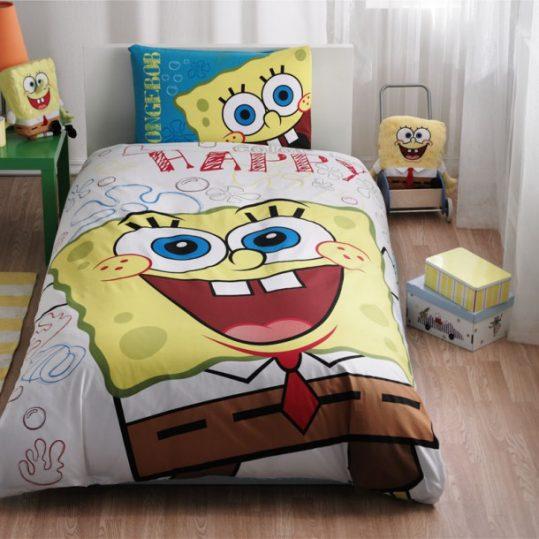 Купить SPONGE BOB HAPPY DISNEY TAС постельное белье детское