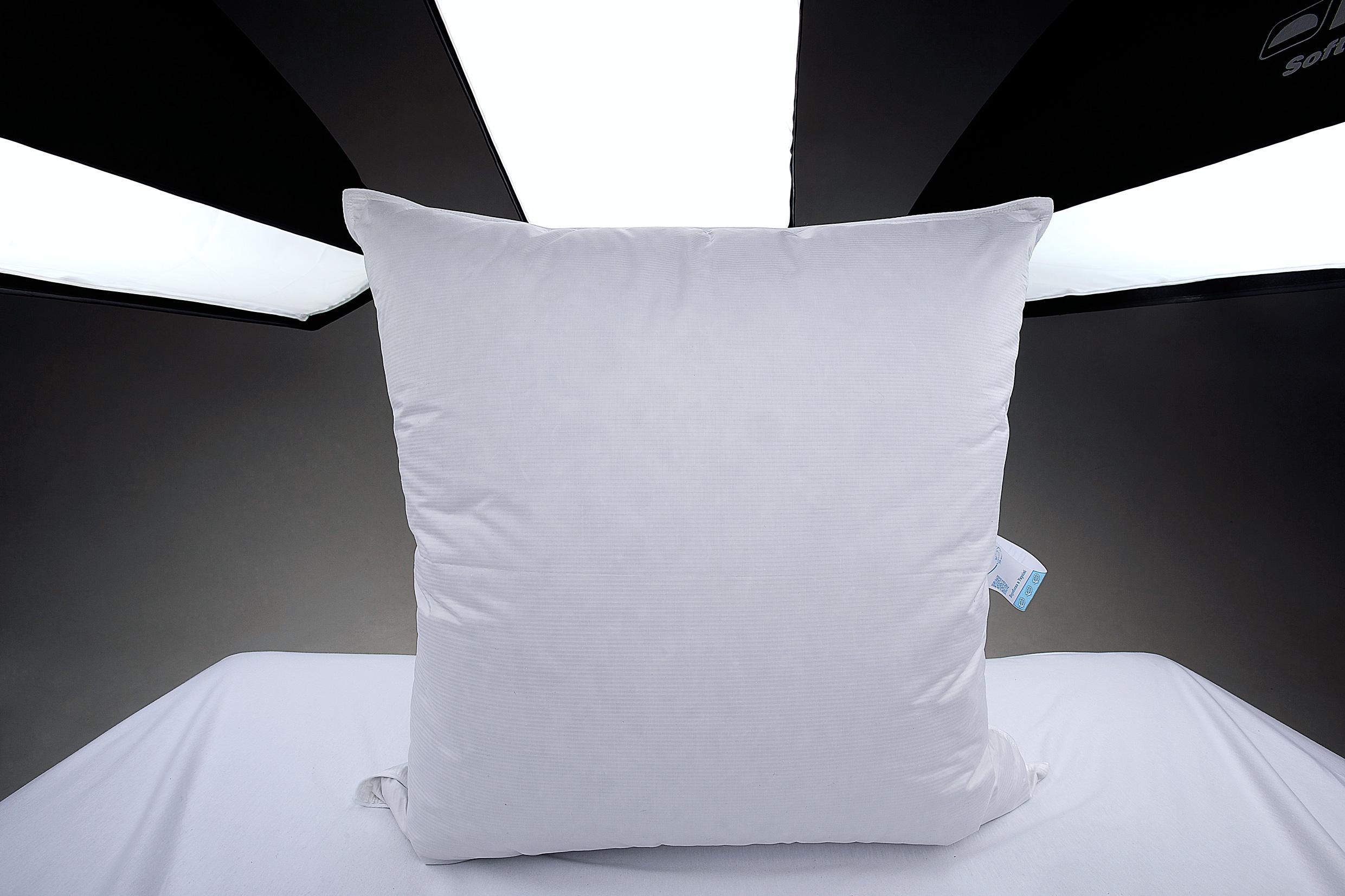Купить Подушка 100% белый пух Iglen изображение 4