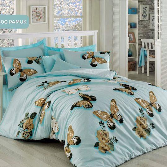 Купить Kelebek Mint Eponj Home постельное белье