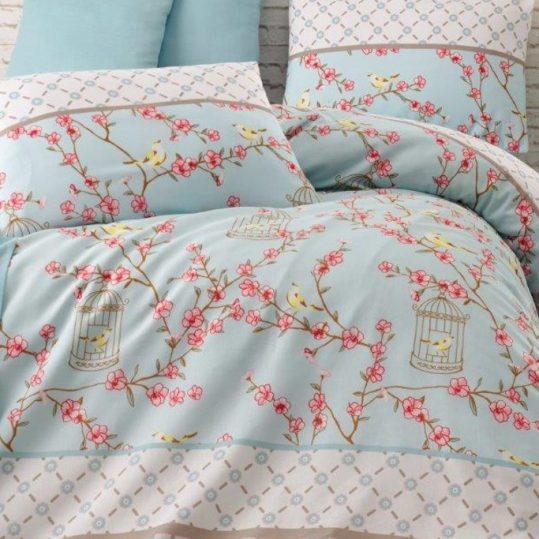 Купить Birdcage бирюзовый Eponj Home постельное белье