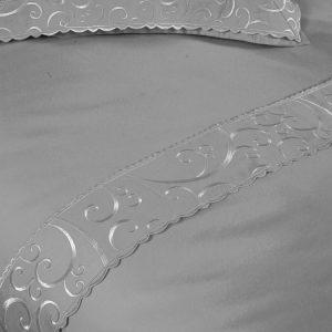 Купить LINDAU GRI Begonville постельное белье с вышивкой