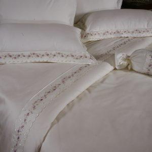 Купить Suprise Lila Begonville постельное белье с вышивкой