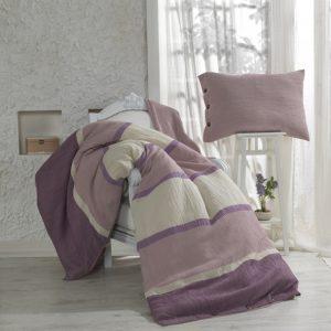 Купить Burumcuk лиловый Buldans постельное белье