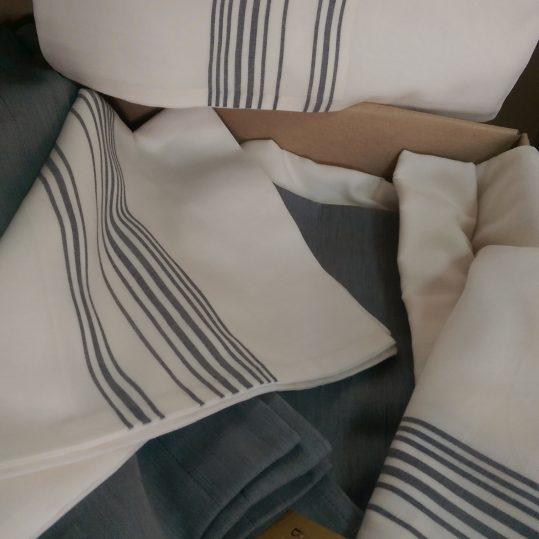 Купить Esinti серый Buldans постельное белье