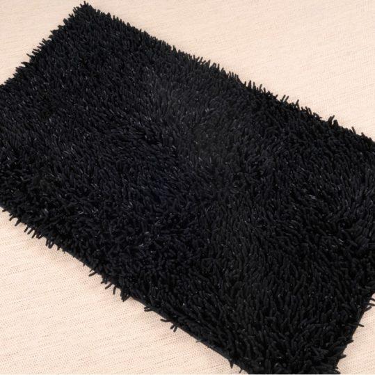 Купить INTENCE MICRO ЧЕРНЫЙ IRYA коврик для ванной