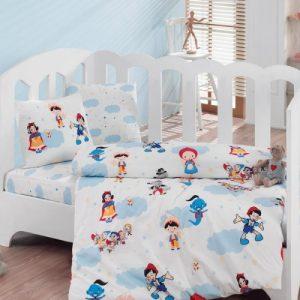 Купить Masal Dunyasi Bordo Cotton Box постельное белье для новорожденных