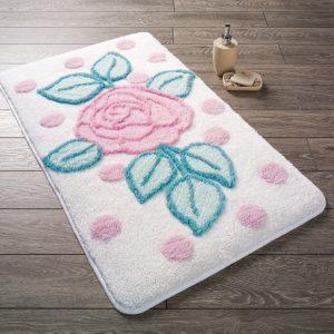 Купить Biblos Karbeyaz Confetti коврик для ванной