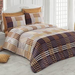 Купить Cameron v1 Kahve Majoli Bahar Tekstil постельное белье