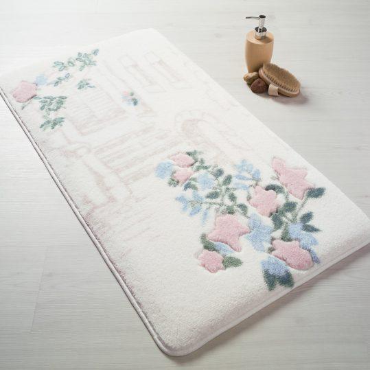 Купить Flower Garden Pembe Confetti коврик для ванной
