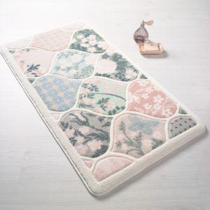 Купить Flower Market Pembe Confetti коврик для ванной