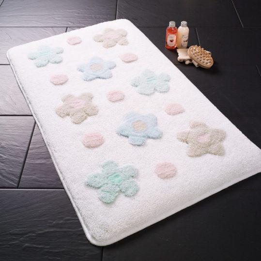 Купить Parion Karbeyaz Confetti коврик для ванной