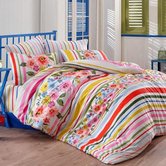 Купить Carolin v1 Fusya Majoli Bahar Tekstil постельное белье