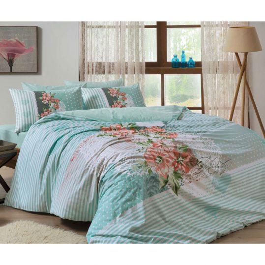 Купить Florence v02 Mavi TAC постельное белье