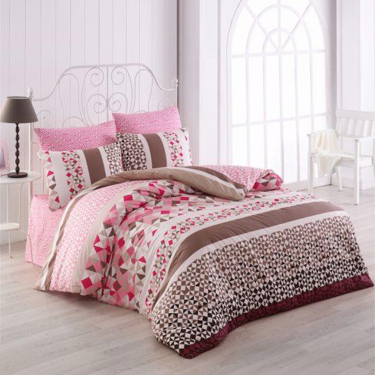 Купить Laviva v2 Pembe Majoli Bahar Tekstil постельное белье