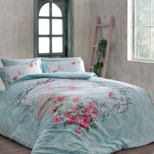 Купить Lilyana v01 Mavi TAC постельное белье