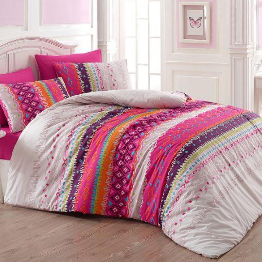 Купить Melanie v1 Fusia Majoli Bahar Tekstil постельное белье