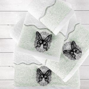 Купить Mira Yesil Irya полотенце