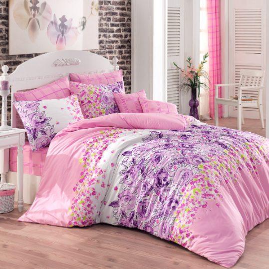 Купить Mona v1 Lila Majoli Bahar Tekstil постельное белье