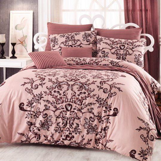Купить Royal v1 Kahve Majoli Bahar Tekstil постельное белье