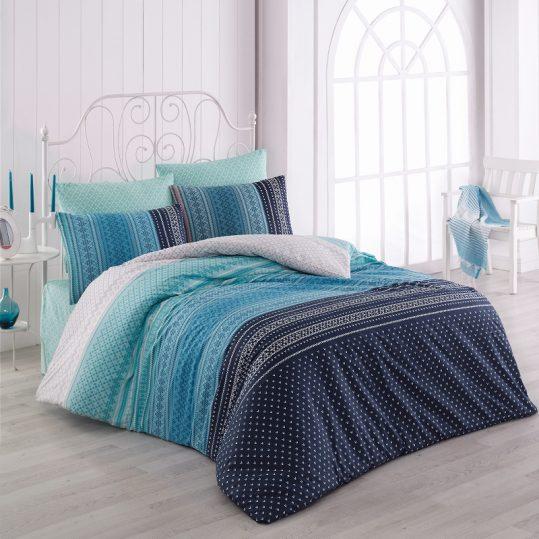 Купить Summer v1 Mavi Majoli Bahar Tekstil постельное белье