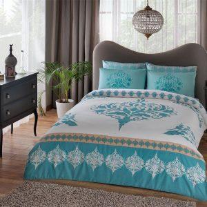 Купить Venna v07 Turkuaz TAC постельное белье