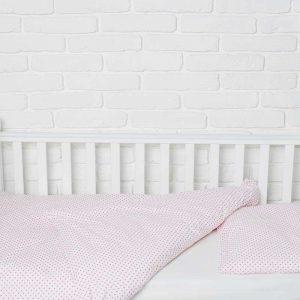 Купить Розовые горошки Elfdreams постельное белье для новорожденных