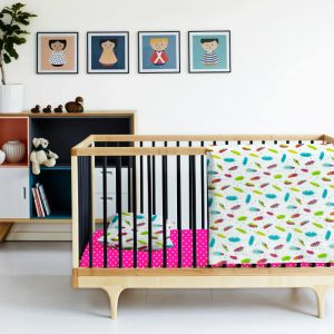 Купить Перья малина Cosas постельное белье детское