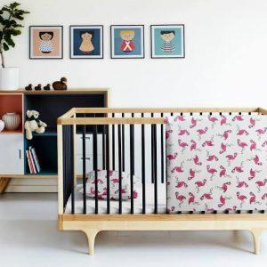 Купить Фламинго белый Cosas постельное белье детское