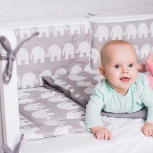 Купить Слоники Elfdreams постельное белье для новорожденных