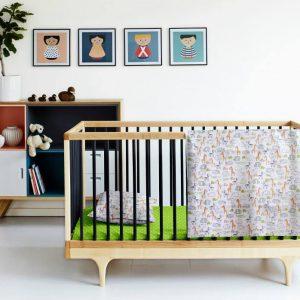 Купить Звери зеленый Cosas постельное белье детское