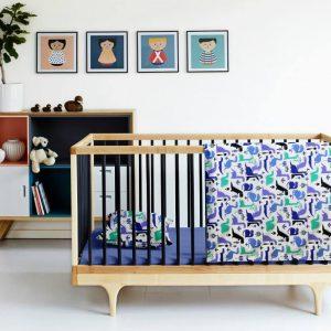 Купить Дино синий Cosas постельное белье детское
