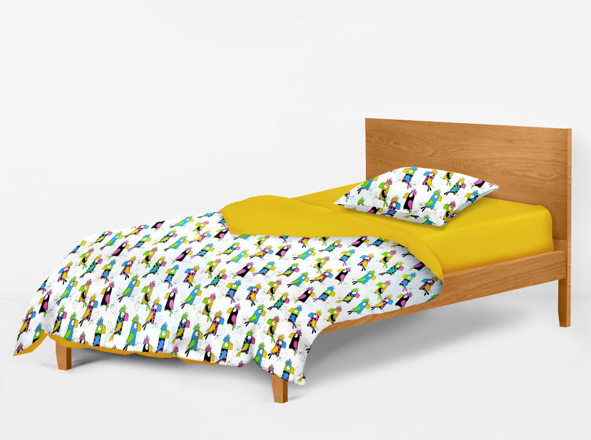 Купить Попугай желтый Cosas постельное белье детское изображение 4