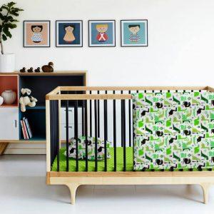 Купить Дино зеленый Cosas постельное белье детское