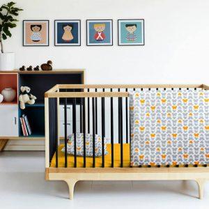 Купить Бабочки желтый Cosas постельное белье детское