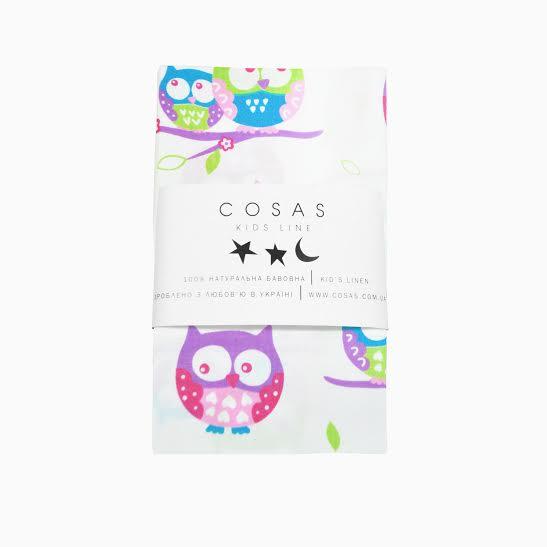 Купить Сова фиолетовый Cosas постельное белье детское изображение 2