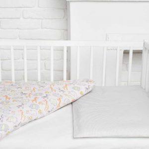 Купить Полосатый зоопарк Elfdreams постельное белье для новорожденных