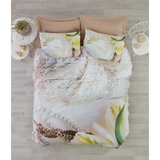 Купить Paola Bej 3D Floral Cotton Box постельное белье