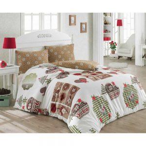 Купить Winter Bej Cotton Box постельное белье