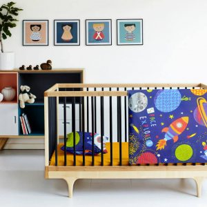 Купить Космос оранжевый Cosas постельное белье детское