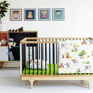 Купить Принц зеленый Cosas постельное белье детское